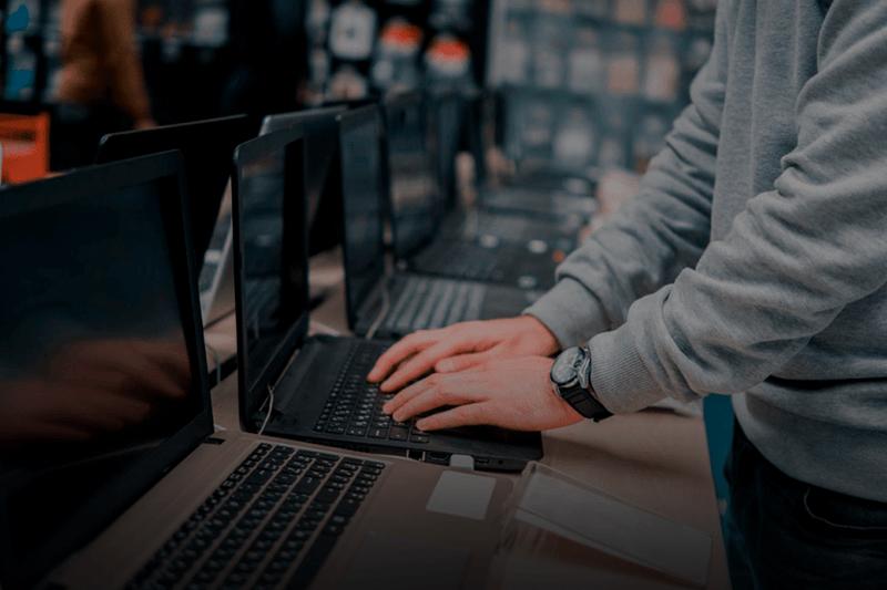 A gestão de estoque na loja de informática
