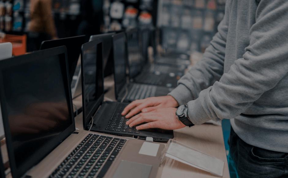 gestão de estoque na loja de informática