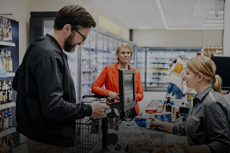 Pagamentos por QR Code para supermercados