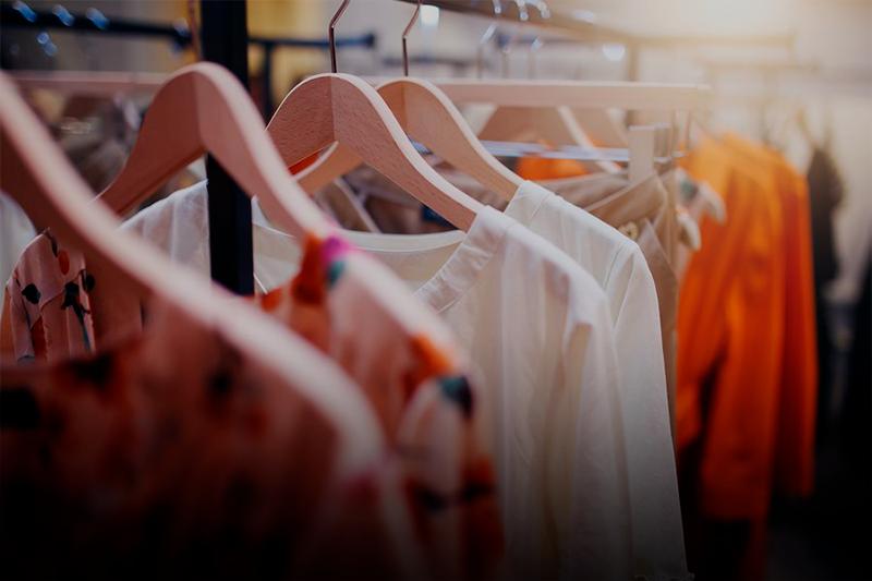 administrar uma loja de roupa